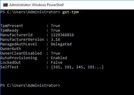 Windows 10 TPM and BitLocker | Eddie Jackson