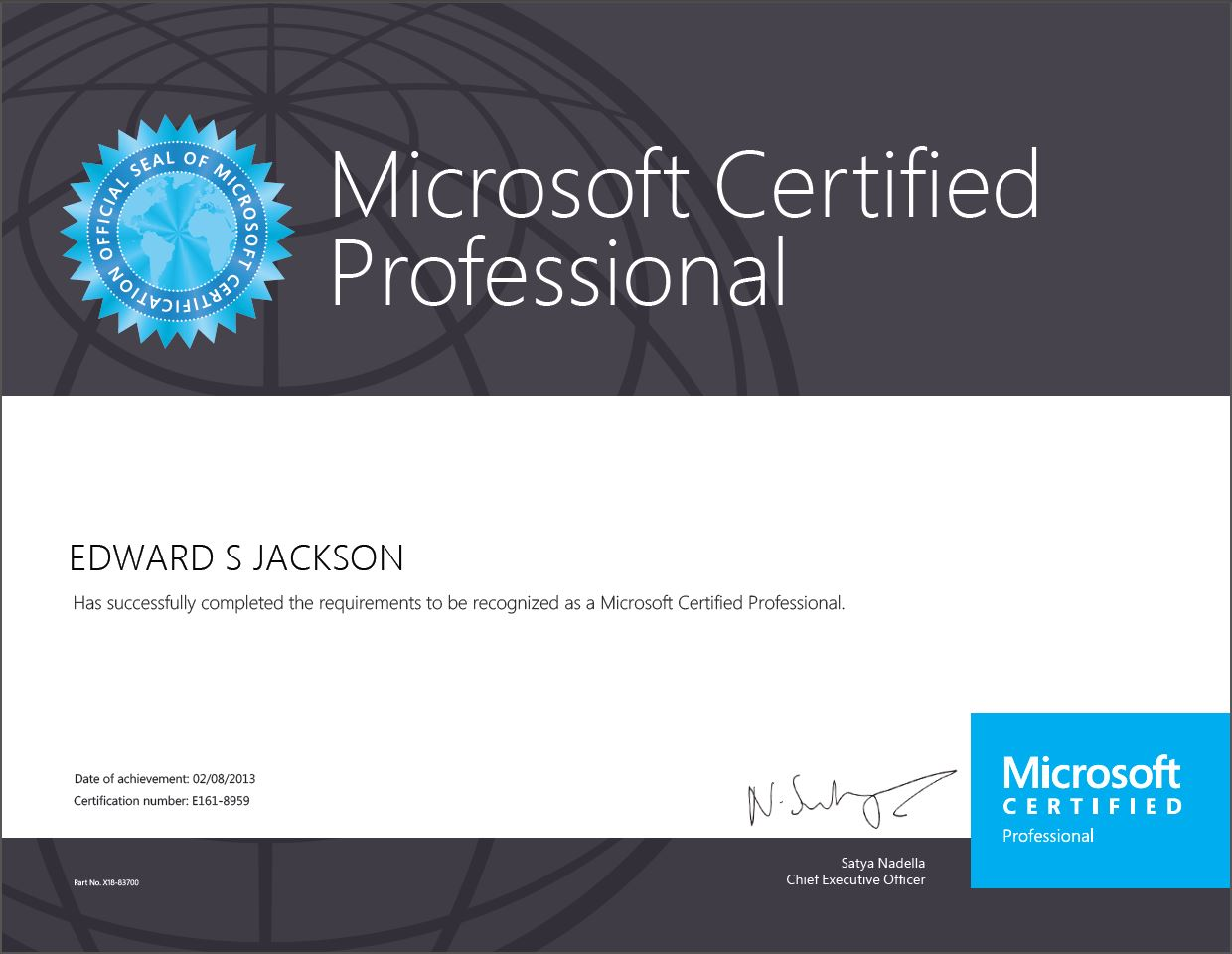 Windows 8 certified