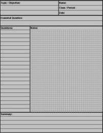 Access Notes