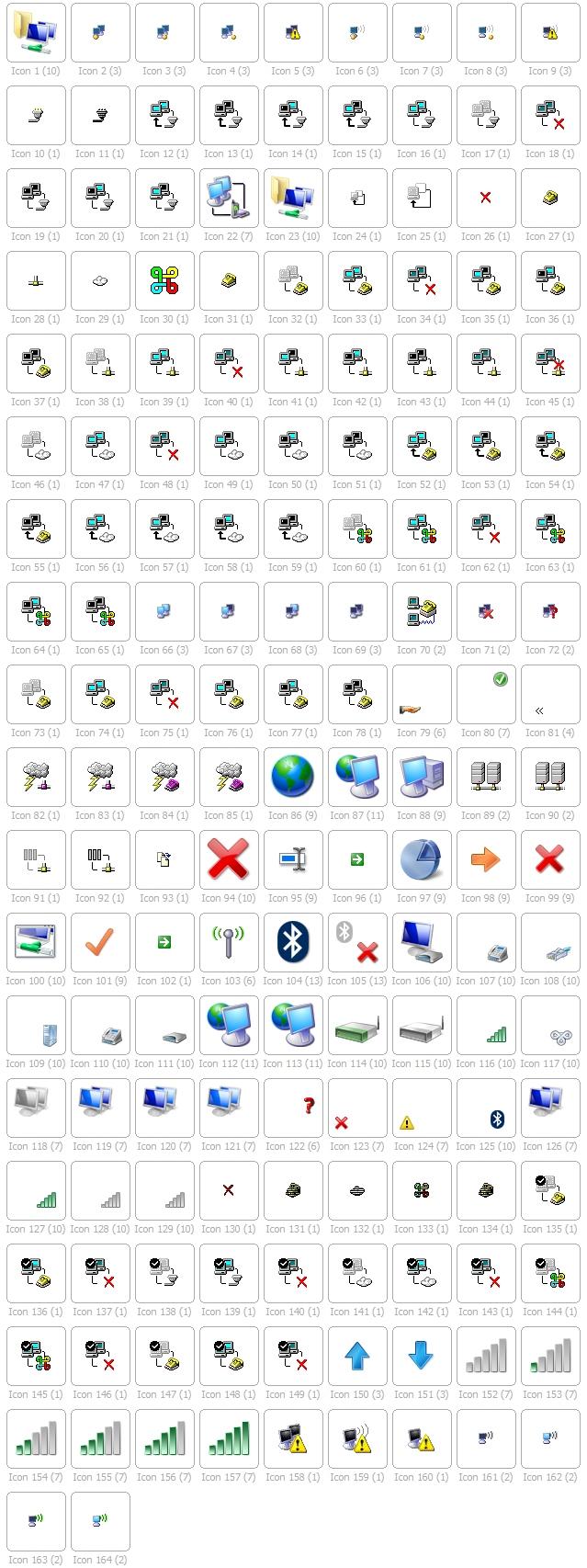 netshell.dll icons