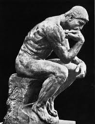 Thinking Man by Auguste Rodin