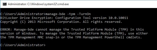 Windows 10 TPM and BitLocker | Eddie Jackson